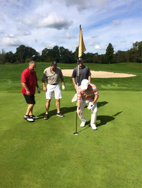 Joe Sedlecky's hole in one shot 9/20/15 Scott Lake Country Club GOLD # 2 170 yds.